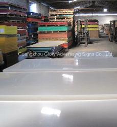 Folha de acrílico com PMMA de plástico para corte e dobra CNC