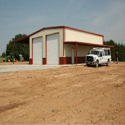 بنية المستودع الصلب المثالية تخزين السيارات في المزرعة (KXD-SSW1399)