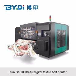 طابعة سيور النسيج الرقمي للطباعة المباشرة باستخدام الحبر النشط/الحمضي/التفرق/الصبغي معظم الأقمشة