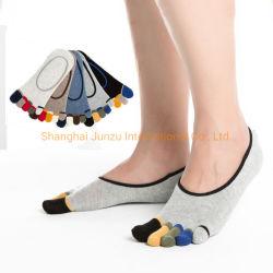 Donna cinque dita Toe Socks 2020 caldo Vendere Cotton uomo Barca cinque calze per le dita Punta invisibile calzini caviglia