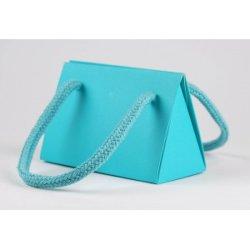 Triângulo de moda jóias de papel de saco (PB-003)