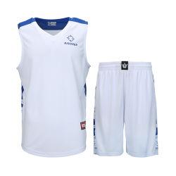 Nouveau design de gros de matériel de Jersey maille Shorts hommes chemise uniforme de basket-ball