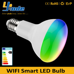 Spotlight 15W Ampoule LED intelligent WiFi Accueil Google
