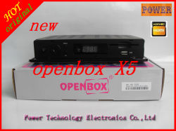 صندوق مفتوح أصلي X5 HD Satellite Receiver يدعم الجيل الثالث Openbox x5 مع WiFi