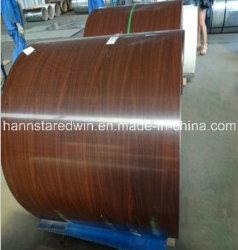 鋼鉄を飾る木製の穀物はPPGIの製造者を巻く