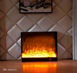 Foyer électrique Insérer autoportant Fake Four flamme Core T304