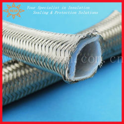 210のDegの化学抵抗力があるステンレス鋼の編みこみのテフロン管