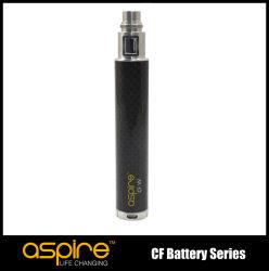 De beste Verkopende Sigaret van E streeft Batterij van het Voltage van de Vezel van de Koolstof de Veranderlijke