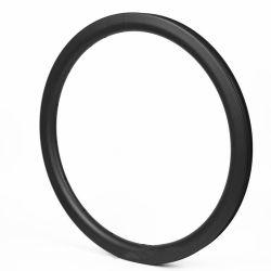 Negro mate de 30mm ancho 30mm de profundidad de 20 pulgadas de llanta de bicicleta BMX Tubeless 406mm llantas de carbono