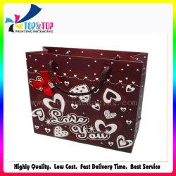 Стильный подарок бумаги сумку с частотой сердечных сокращений офсетной печати