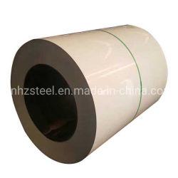 Bobina de aço Prepainted galvanizado 0,45x1250mm RAL7024 PPGI revestido de cor