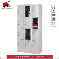 Graue Tür-Stahlmetallspeicher-Schließfach der Gebrauch-Farben-12