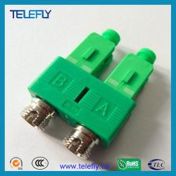 Sc-FC Duplex гибридный оптоволоконный адаптер переменного тока
