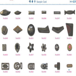 Garment를 위한 최신 Sell Fashion Metal Accessory