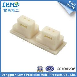 POM noir et blanc Plastique pour les pièces usinées CNC (LM-0062A)