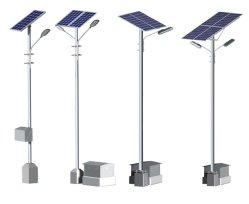 60W conduit Rue lumière solaire avec 8m Pole