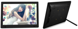 13.3-pulgadas LCD pulgadas WiFi Android Publicidad Reproductor de vídeo HD de la tarjeta SD USB Reproductor de Imagen Digital Photo Frame con la batería