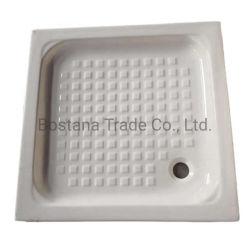 WC Sanitaryware سعر جيد الحمام مربع أبيض خزفي دش صينية