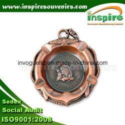 Portacenere in metallo goffrato personalizzato per la collezione regalo