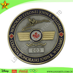 昇進のギフトのための柔らかく堅いエナメルの硬貨の彫版の記念品の挑戦硬貨