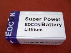 Détecteur de fumée 3,6V ER9V Batteriees Batterie 1200mAh 10,8V