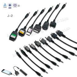 Adaptateur DC2.0 Changement à l'adaptateur de téléphone mobile pour les mini-USB, micro USB, LG, Nokia, Samsung, Sonyericssion, l'iPhone