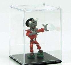 Acrílico personalizada Vitrina de muñecas clara