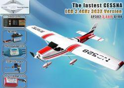 Cessna182 2,4 GHZ AVION RC 5CH RTF avec 3G3X de la technologie (AP03-X1)