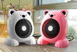 가정용품 산업 선풍기 콤팩트 온열 장치 소형 히이터 작은 탁상용 매우 조용한 귀여운 온난한 팬 히이터