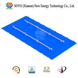 Techo de acero de solución de montaje de Energía Solar (peso ligero y fácil instalación).