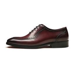 Almofada confortável estilo Italiano Desconto Calçados Derby Vs Brogues homens vestido do calçado