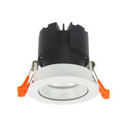 Регулируемый 9W/11W/15 Вт GU10 светильники акцентного освещения с регулируемой яркостью индикатор початков набегающей на потолке
