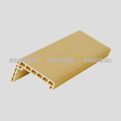 O OEM/MANUFACTURER WPC Moisture-Proof material laminado de PVC sólido da estrutura da porta (MT-7015C)