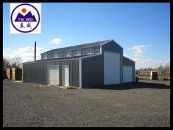 Pré conçus Stockage utilisé Structure légère en acier Atelier (TW512J)