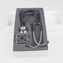 Номера Делюкс из нержавеющей стали и стальных Stailess головки стетоскопа Master стетоскоп