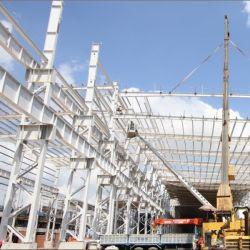 Diseño personalizado de alto nivel de bastidor de acero prefabricados de estructura de acero Construcción Taller para la industria