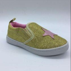 Estilo popular crianças cintilante sapatos de lona casual de Injeção (HH19107-21)