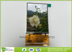Angepasst 3.2 Zoll 240*320 MCU u. RGB-Schnittstelle kleiner LCD-Bildschirm mit widerstrebendem Fingerspitzentablett
