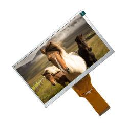 La broche 7 pouces Innolux 50 800x480 résolution Moniteur TFT LCD comprimé à070TN94