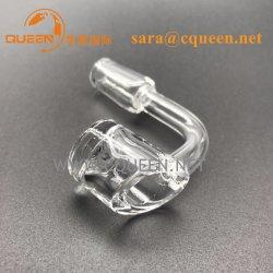 水晶熱Banger+Bubbleキャブレターの帽子100%の実質の水晶釘