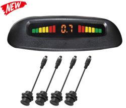 Carro Parktronic Automática do Sensor de estacionamento LED com 4 sensores Ré Estacionamento de Backup do Monitor do Mostrador do Sistema Detector Radar