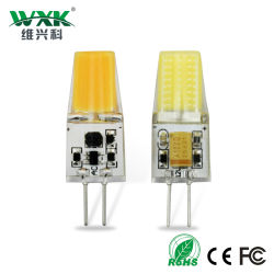 G4 LED Bulb bi-Pin COB AC/DC 12 Volt 3W Landscape Light 2 (Equivalent 20 de lamp van Watt G4 Halogen), 3000K 250lm Warm White G4 G9 LED Lamp