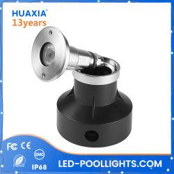 IP68 утопленную бассейн лампа 1 Вт из нержавеющей стали 3 Вт Светодиодные лампы метро мини тип Inground лампа