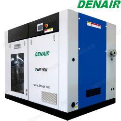 DENAIR Compressor de ar de parafuso isentos de óleo para máquina de embalagem a vácuo
