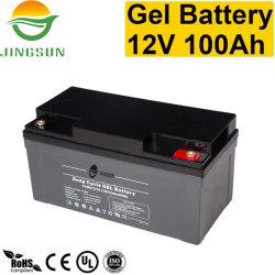 Mca Cbb свинцово-кислотный аккумулятор батарея типа VRLA 12V 100Ah глубокую цикла AGM гель для солнечной системы