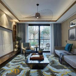 Tapetes de piso de carpete personalizado padrão abstrato estilo moderno tapetes de lã/tapete