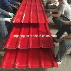 Kenya Market Color Red Gauge 30 Verzinktes Dachkastenprofil