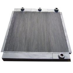 アルミニウム空気圧縮機のクーラーの版のタイプ空気によって冷却される熱交換器