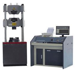 Manuel d'essai testeur universel 1000kn résistance en cuir de l'élongation PVC électronique Machine d'essai de traction