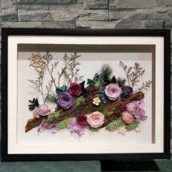 2019のベストセラーの維持された花はクラブ装飾のために永遠の花の絵画を維持した